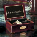 Rosewood Desk Box Executive Gift Awards